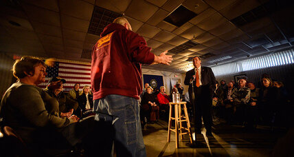 Presidential election looks very different from N.H. town halls