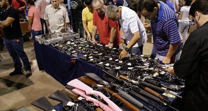 How gun control looks from an Arizona gun show
