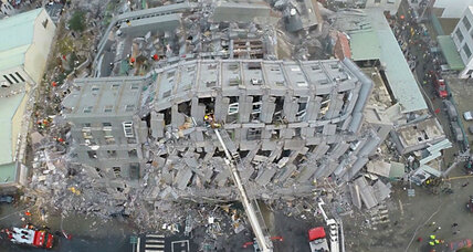 Rescue efforts continue after massive Taiwan earthquake