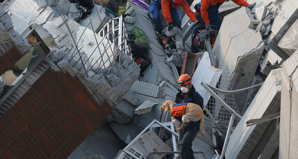 Taiwan earthquake: A fast enough rescue response? (+video)