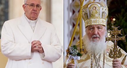 Why meeting between pope and Russian church leader is a big deal