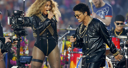 Super Bowl halftime shift? Beyonce pop vs. Coldplay rock