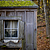 Garden shed in winter