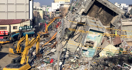 Why developers were arrested after an earthquake in Taiwan