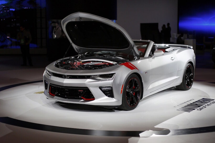 2017 Chevrolet Camaro 1le Revealed With V6 And V8 Options