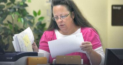 Kim Davis and the Kentucky compromise: a way forward for Evangelical officials? (+video)
