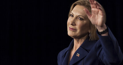 What happened to Carly Fiorina's presidential hopes?