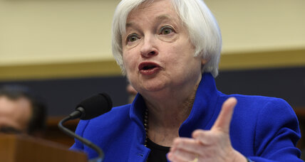 Fed chair Janet Yellen: Persistent economic weakness could slow rate hikes