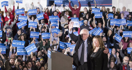 Are Jewish voters feeling the Bern? Not really.