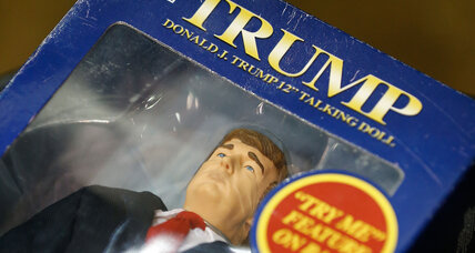 Ted Cruz uses dolls to call Donald Trump liberal. Will that work? (+video)