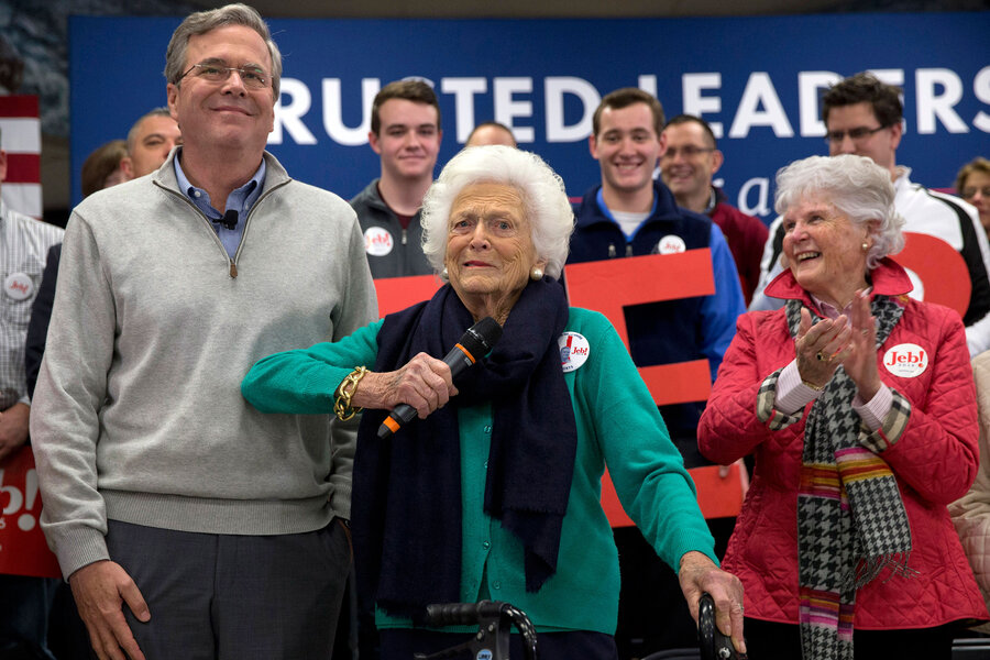 Calling Mom Why Jeb Bush S Campaign Is Now A Family