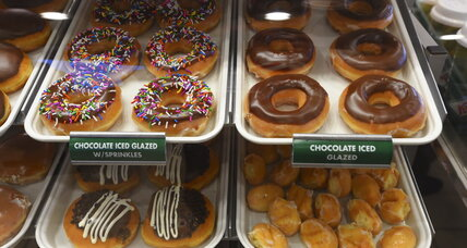 Krispy Kreme returns to Dunkin'-dominated New England
