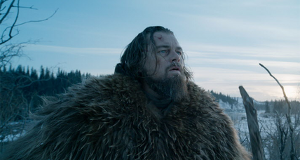 Leonardo DiCaprio (finally) takes the Best Actor prize for 'The Revenant'