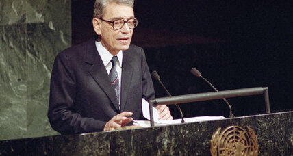 Boutros Boutros-Ghali remembered for tumultuous term as UN head (+video)