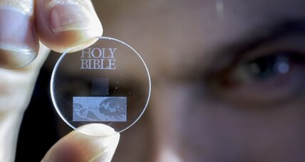 How '5-D' glass discs can store data for billions of years