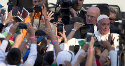 In Mexico, pope's warning underscores dangers confronted by priests