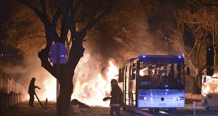 At least 28 killed as Turkish military buses attacked in car bombing, official says