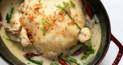 Indonesian white chicken curry