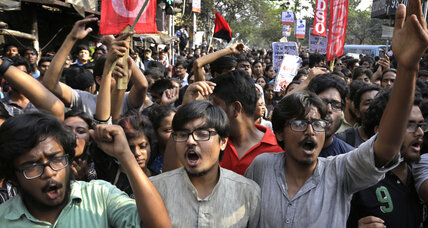 Protests against India student leader's arrest spread