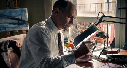Acclaimed stage actor Mark Rylance takes Best Supporting Actor Oscar for 'Bridge of Spies'