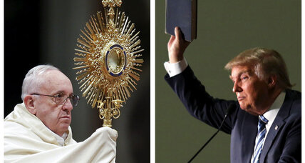 Donald Trump vs. Pope Francis: Game-changer in South Carolina? (+video)