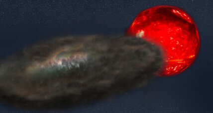 Stellar eclipse plunges distant star system into 3-1/2 years of darkness