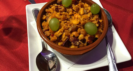 Culinary travel: Central Spain and migas tapa