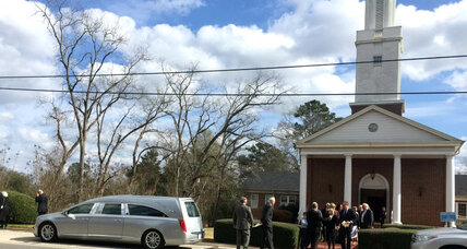 Harper Lee laid to rest in private ceremony in Alabama hometown