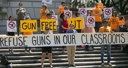 Texas private colleges oppose guns on campus