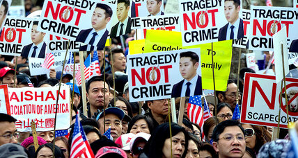 How Chinese American protesters are invoking Black Lives Matter