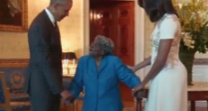 Dancing with the Obamas: Watch a 106-year-old celebrate a White House visit