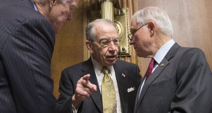 Senate GOP leaders says no hearing, no vote on Obama Court nominee