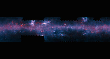 Spectacular new Milky Way map reveals colder parts of galaxy