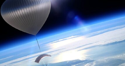 How a former astronaut plans to use balloons to take people to the edge of space