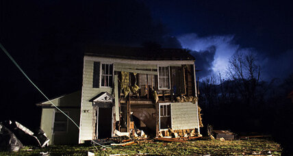 Tales of loss and survival emerge tornadoes' wake