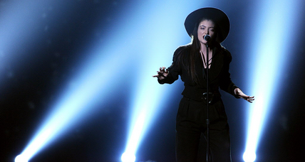 Brit Awards: How David Bowie praised Lorde as the future of music