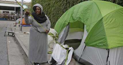 Tent city evictions highlight San Francisco's homelessness problem (+video)