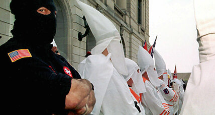 What's the controversy over Donald Trump and the KKK?