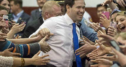 What's Marco Rubio's strategy against Donald Trump?