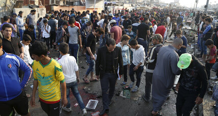 Baghdad death toll up to 73 after ISIS market bombing