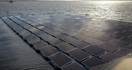 Meet the world's largest floating solar-energy farm