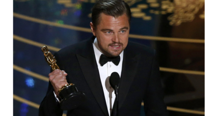 Leonardo DiCaprio uses Best Actor Oscar speech to draw attention to climate change