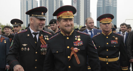 With 'resignation' announcement, Chechnya's strongman woos Putin