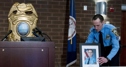 In fatal shooting of Virginia cop, a tale of two divergent trends