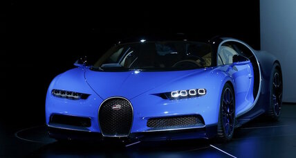 Bugatti Chiron makes $2.6 million debut at Geneva Motor Show (+video)