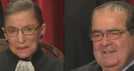 Scalia and Ginsburg point to possibilities of bipartisan partnership