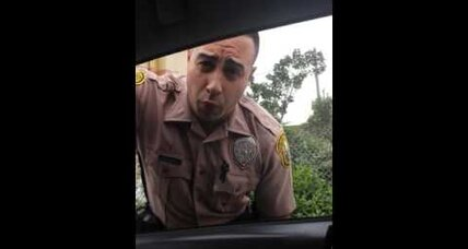 Irregular traffic stop: Miami cop pulled over for speeding