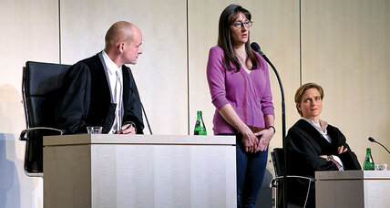 A play about terrorism with the audience as the jury