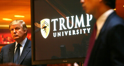 Trump University: Is it a real scandal?