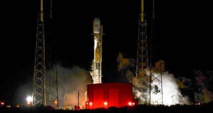 What delayed SpaceX's launch this time?